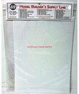 Model Builder's Supply Line~#50050~Random Stone Sheets~HO Scale~ - $17.00