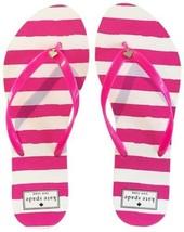 New Kate Spade Nassau Pink & White Striped Flip Flop (Size 5-6)-MSRP $48.00! - $24.95
