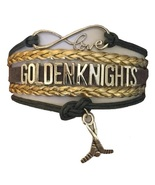 Las Vegas Golden Knights Hockey Infinity Bracelet Jewelry Apparel - $12.99