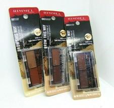 RIMMEL BROW THIS WAY  Brow Sculpting Kit 0.03oz/1.1g Choose Shade - $7.95