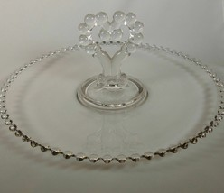 "IMPERIAL CANDLEWICK PASTRY PLATE SERVER TRAY HANDLE 400/68D #3400  11 3/4"" - $25.24"