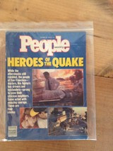 PEOPLE MAGAZINE HEROES OF THE QUAKE OCTOBER 30, 1989 GOOD CONDITION     ... - $8.79