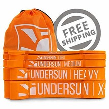 Undersun Fitness Single X-Heavy 50-120 lbs Resistance Band. Loop Style Workout B