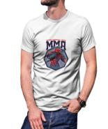 MMA Fighter T-shirt White For Men - $20.99