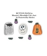 BUTTON PACK JABC 10298 (8 buttons) Mummy's Moonlight Cafe Praiseworthy S... - $15.70