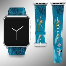 Peter Pan Disney Apple Watch Band 38 40 42 44 mm Fabric Leather Strap 02 - $29.97