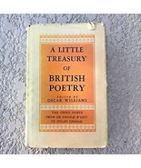 A Little Treasury of British Poetry 1800-1950 Charles Scribners Sons 195... - $39.95