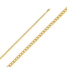 14k Yellow Gold 3.4-mm Cuban Chain Necklace - $192.95+