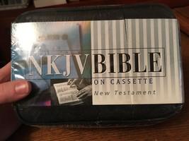 Sealed NKJV New Testament Bible on 12 Cassettes Narrated Stephen Johnston - $12.59