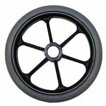 """8 x 1"""" 6 Spoke Wheelchair Caster Wheels (Pair) - $54.00"""