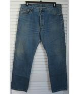 VINTAGE Levis 501 511 Jeans Original Fit Blue sz 38 x 32 MADE IN USA - $109.30