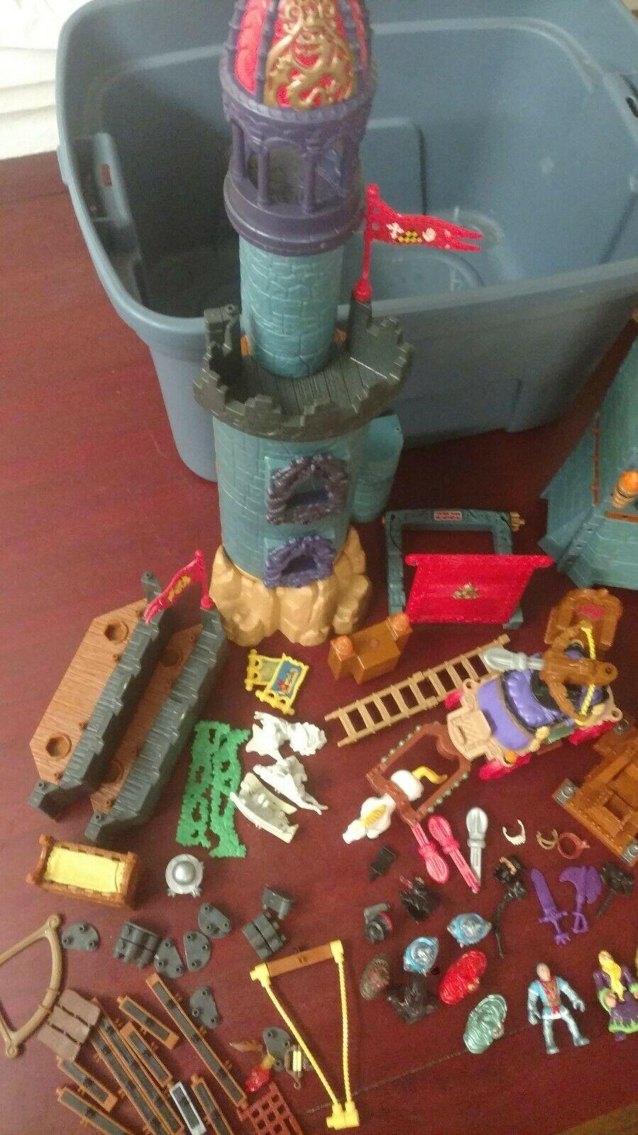 Imaginext Medieval Battle Castle Parts and accessories image 3