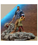 The Walking Dead Telltale Games Clementine Clem & Lee Polystone Diorama ... - $499.98