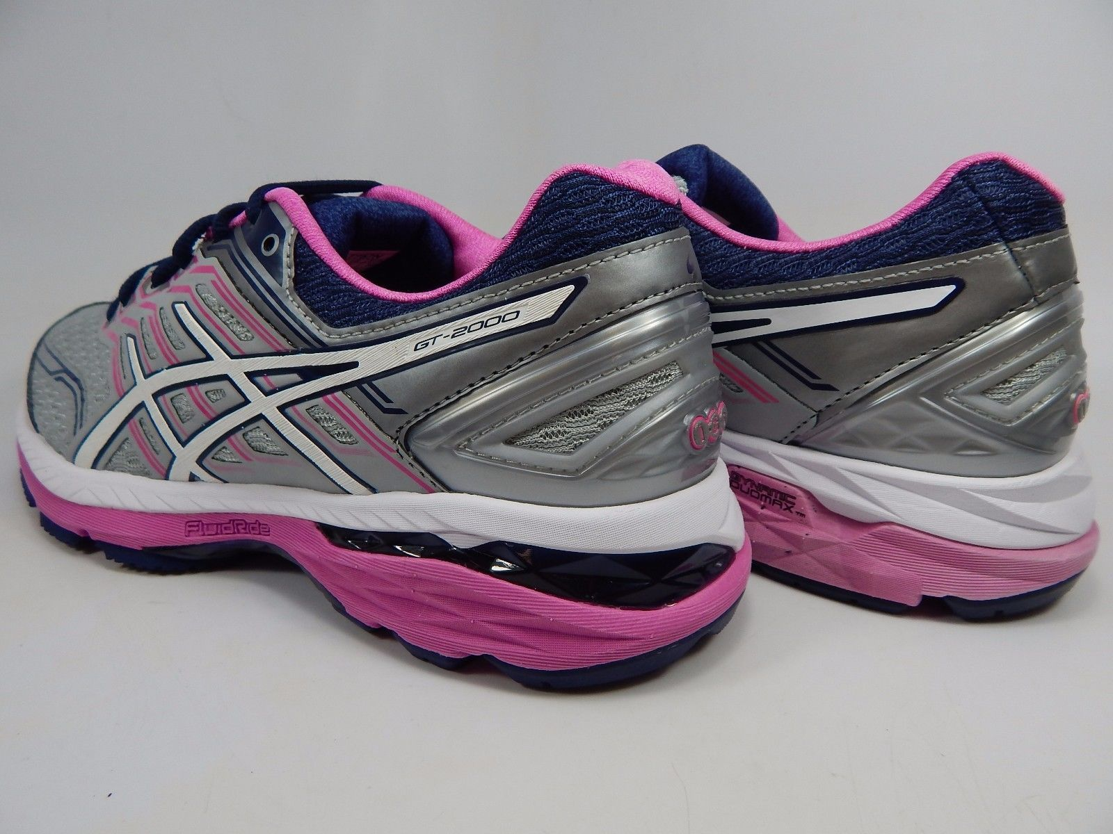 Asics GT 2000 v 5 Women's Running Shoes Size US 7 M (B) EU 38 Silver T757N