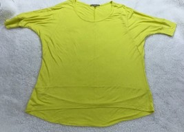 Gap Womens Bright Yellow Short Sleeve High Low Shirt Top Blouse Size S SMALL - $7.10