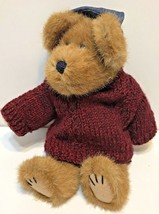 Vintage 1995 Boyds Bears Leo Bruinski Plush Bear With Sweater Jeans and ... - $23.49