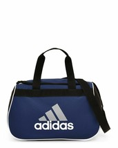 NWT Adidas Diablo Small Duffel Bag Gray/Black/Navy Sport Gym Travel Expa... - $14.85