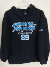 EUC Reebok NFL Carolina Panthers Steve Smith # 89 Football Sweatshirt Me... - $31.14