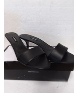 Nine West Lynton Slide Dress Sandals, Black, 11 US - $51.85