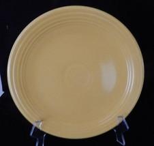 "Genuine Vintage Fiesta Ware Homer Laughlin Usa LARGE12"" Yel Round PLATTER/PLATE - $29.65"