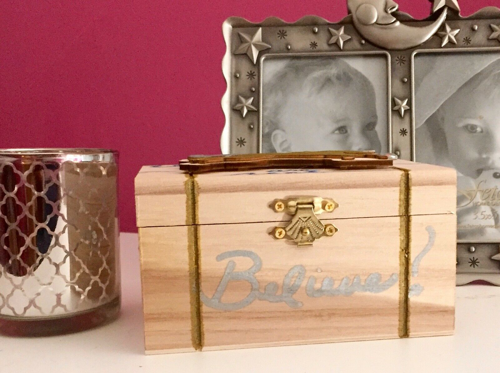 Primary image for Unicorn Treasure Chest Trinket Box Handcrafted Enchanted & Unique One of A Kind