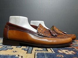 Men's Florsheim Brown Leather Classic Tassel Loader Sz. 10D Excellent! - $26.71