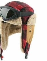 New Plaid Design Winter Bomber Hats Women Men Thermal Faux Berber Fleece... - $18.49+