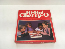 vintage board game piece Hi Ho cherry O board and cherry pieces  - $12.17
