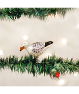 OLD WORLD CHRISTMAS SEA GULL CLIP-ON GLASS CHRISTMAS ORNAMENT 18037 - $12.88