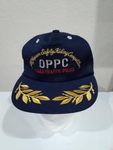 Vintage All Japan Safety Ridding Competition Osaka Traffic Police Hat Cat - $29.95