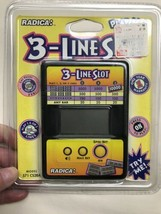 Radica 3 Three Line Slot Handheld Electronic Game  - $19.75