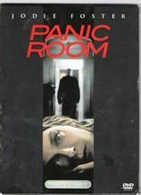 """""""PANIC ROOM"""", Jodie Foster; a SUPERBITt DVD Disc Edition; A Thriller Film - $3.95"""