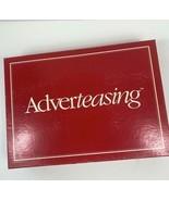 Adverteasing Game Slogans Jingles Original Box Instructions 1988 VTG Cadaco 800 - $29.69