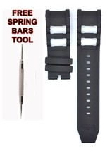 Compatible Invicta Russian Diver 7239 26mm Black Rubber Watch Strap INV125 - $28.86
