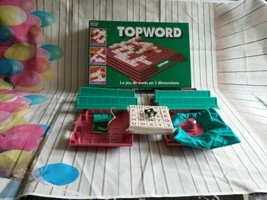 Topword 3 Dimensions Letter Board Game Opened Never Used By Parker - $20.72