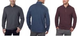 Calvin Klein Jeans Men's ¼ Zip Pullover - $15.99