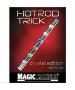 Crystal Hot Rod Magic Trick - Red Force - From Magic Makers - $11.95