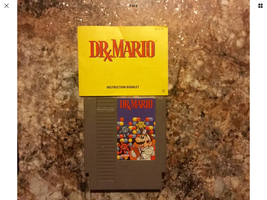 Dr. Mario (Nintendo NES, 1990) Game Cartridge & Instruction Booklet - Te... - $8.99