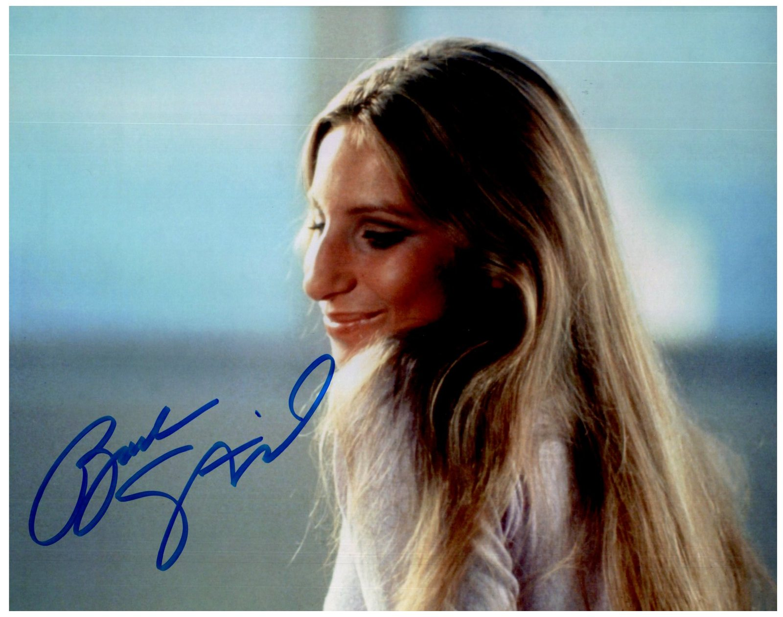 BARBRA STREISAND Signed Autographed 8X10 Photo w/ Certificate of Authenticity
