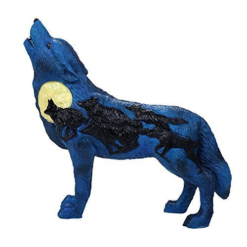 Primary image for Pacific Giftware The Wolf Spirit Collection Night Rush Wolf Collectible Figurine