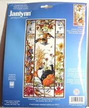 Autumn Cat Sampler Janlynn Counted Cross Stitch Kit Black/White/Tuxedo K... - $27.08