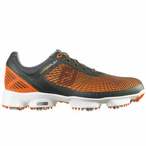 NEW! FootJoy [9.5] Medium HyperFlex Men Golf Shoes 51015-Grey/Orange - $178.08