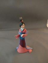 "Disney Store Princess MULAN Figure PVC Cake Topper Princesses 4"" Tall - $5.00"