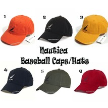 NAUTICA NEW MEN'S NS83 BASEBALL SPORT CAP/HAT CASUAL OUTDOOR SUN CAPS HA... - $20.36+