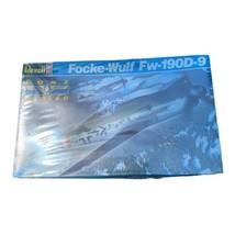 REVELL 4556 1/32 FOCKE-WULF FW 190D-9 Plastic Model Kit NEW SEALED BOX (... - $59.39