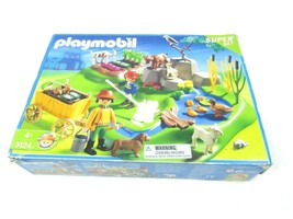 Playmobil Farm 3124 Starter Set Playscape Farmers Animals Accessories Re... - $22.72