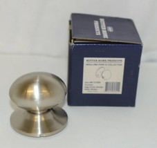 Better Home Products 61315SN Dummy Egg Knob Design Satin Nickel image 1
