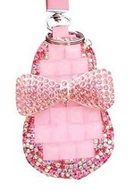 Car Key Holder Decorative Key Chain Sets Zero Wallet Pendant Rhinestones