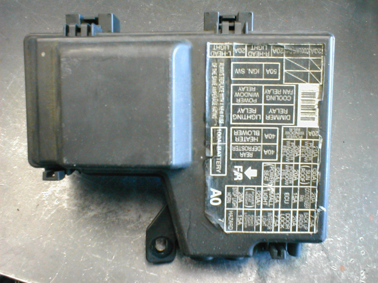 1995 1996 1997 Honda Accord Fuse Box Under Hood Fits V6