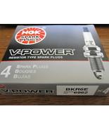 NGK BKR6E V-Power Spark Plug Pack of 4 New - $11.83